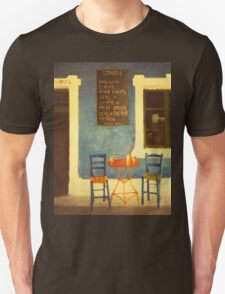 Table For Two Mykonos Greece Unisex T-Shirt