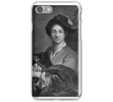 Portrait of an Artist After Hyacinthe François Rigau y Ros, called Hyacinthe  iPhone Case/Skin