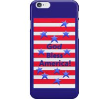 God Bless America iPhone Case/Skin