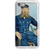 Postman Joseph Roulin Vincent van Gogh (Dutch (worked in France), iPhone Case/Skin