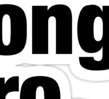 Cool Song Bro Sticker