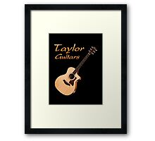 Wonderful Taylor Guitars Framed Print