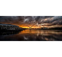 Infinity Bridge Sunset Photographic Print