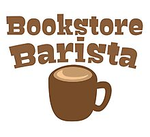 Bookstore Barista Photographic Print