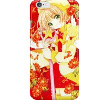Sakura vs. Eriol iPhone Case/Skin
