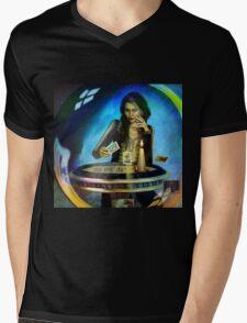 DUKKERIN' ... fortune teller Mens V-Neck T-Shirt