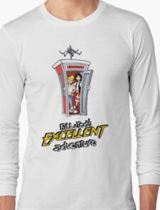 Bill and Ted's Excellent Adventure Long Sleeve T-Shirt