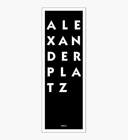 Alexanderplatz - Berlin Photographic Print