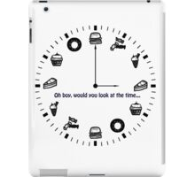 Food O'Clock iPad Case/Skin
