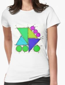 Sweetened edge 2 Womens Fitted T-Shirt