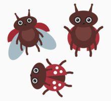 Funny ladybugs  One Piece - Long Sleeve