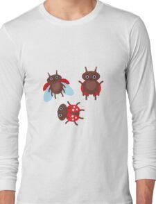 Funny ladybugs  Long Sleeve T-Shirt