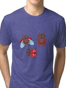 Funny ladybugs  Tri-blend T-Shirt