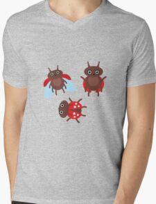 Funny ladybugs  Mens V-Neck T-Shirt