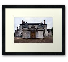 Leith Hall Back Entry - (Huntly, Aberdeenshire, Scotland) Framed Print