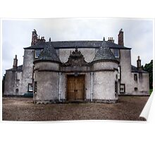 Leith Hall Back Entry - (Huntly, Aberdeenshire, Scotland) Poster