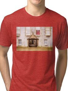 Leith Hall Architectural Details - (Huntly, Aberdeenshire, Scotland) Tri-blend T-Shirt