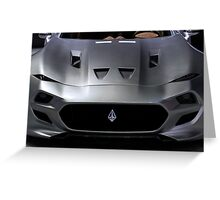 VLF Automotive Force 1 front Greeting Card