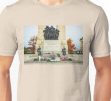 Guarding the National War Memorial - Ottawa Unisex T-Shirt