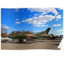 Republic F-105D Thunderchief - American Airpower Museum | Farmingdale, New York Poster