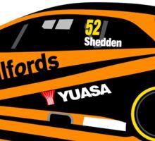 Gordon Shedden Halfords Honda Yuassa Racing 2016 Touring Car BTCC Sticker