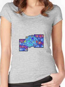 Abstract digital art - Gougelon V2 Women's Fitted Scoop T-Shirt