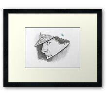 Hatman and Robin Framed Print