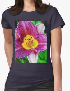 Little Grapette Womens Fitted T-Shirt