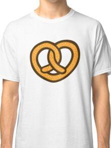 I Heart Pretzels Pattern Classic T-Shirt