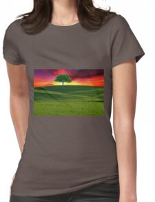 One Tree Hill Womens Fitted T-Shirt