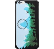 Lord of the Rings Travel Design iPhone Case/Skin