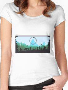 Lord of the Rings Travel Design Women's Fitted Scoop T-Shirt