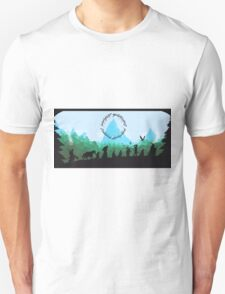 Lord of the Rings Travel Design Unisex T-Shirt