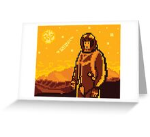 Like Firewatch... but space. Greeting Card