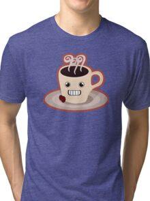 Kawaii coffee Tri-blend T-Shirt