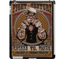 popeye vs brutus iPad Case/Skin