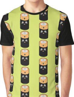 Kawaii Battery Graphic T-Shirt