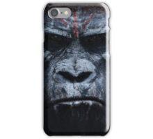 Ape face (version 2) iPhone Case/Skin