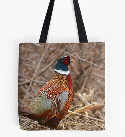 Ring Neck Pheasant Tote Bag