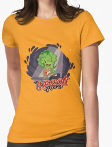Broccoli Rocks! Womens Fitted T-Shirt