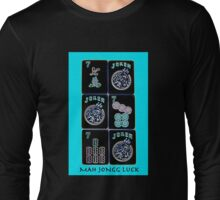 "Lucky Sevens and Jokers ""Mah Jongg Luck"" #11 ~ Mah Jongg Series Long Sleeve T-Shirt"