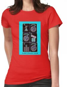 "Lucky Sevens and Jokers ""Mah Jongg Luck"" #11 ~ Mah Jongg Series Womens Fitted T-Shirt"
