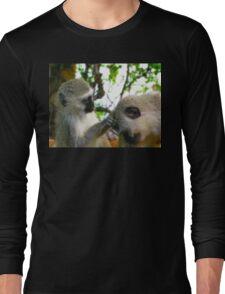Velvet Monkeys, Kruger National Park, South Africa Long Sleeve T-Shirt