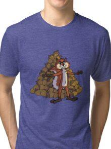 Squirrel ! Tri-blend T-Shirt