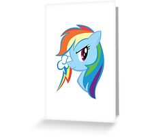 MLP: Rainbow Dash Greeting Card