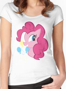 MLP: Pinkie Pie Women's Fitted Scoop T-Shirt