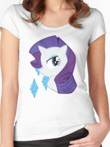 MLP: Rarity Women's Fitted Scoop T-Shirt