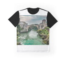 "Stari Most ""Old Bridge"" Mostar Graphic T-Shirt"