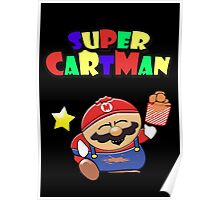 Super-Mario // Cartman Poster