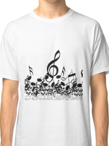 Music Note's BW 2 Classic T-Shirt